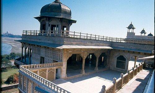 Rotes Fort Agra, Rajastan, Indien