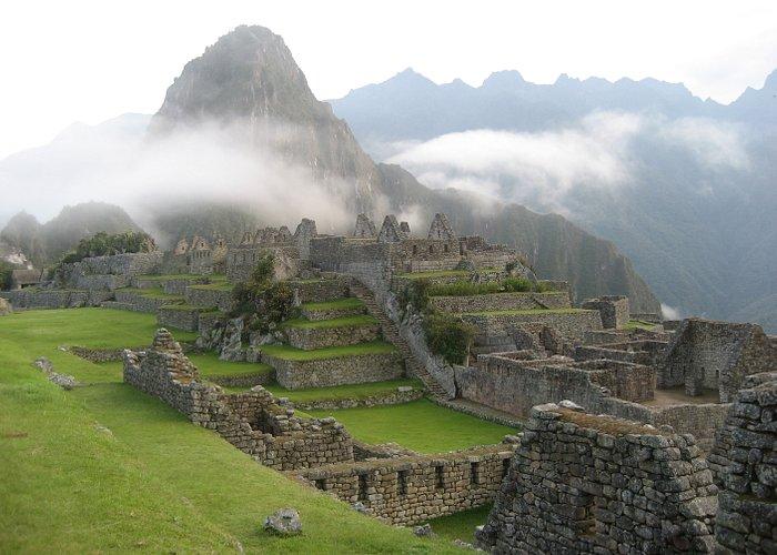 Early morning atop Machu Picchu