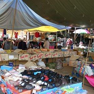 1001 Meter Market at Chiang Dao