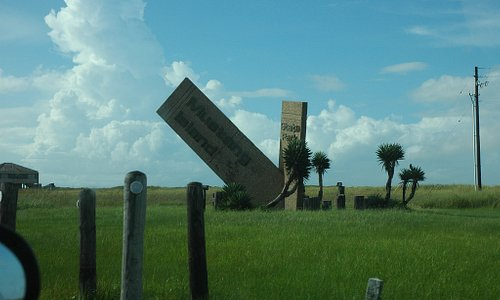 Mustang Island State Park sign