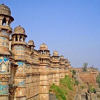 la fortaleza de Gwalior