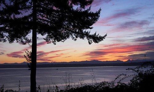Sunrise on Bainbridge Island