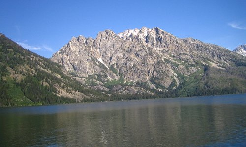 6/23/07 - View from Jenny Lake Hiker Shuttle