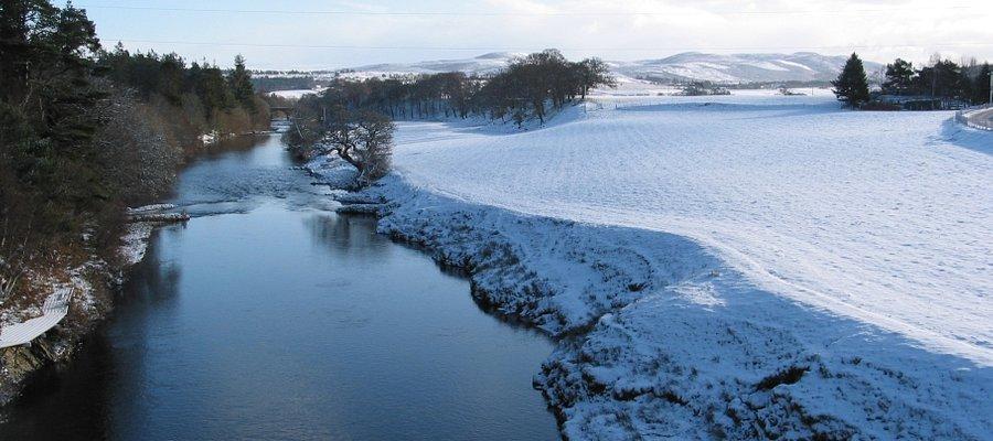 Lower Gledfield - River Carron
