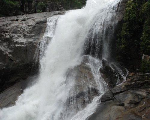 Murray Falls flowing strongly