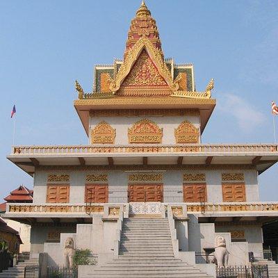 Phnom Penh - Wat Ounalom