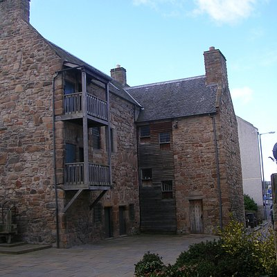 15th Century Loudon Hall, townhouse of the Campbells of Loudon
