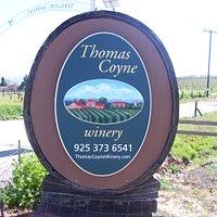 Thomas Coyne Winery Entrance
