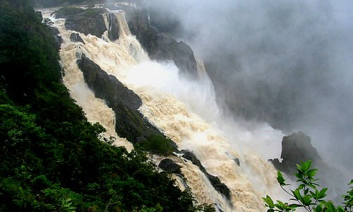 Barron Falls in rainy season