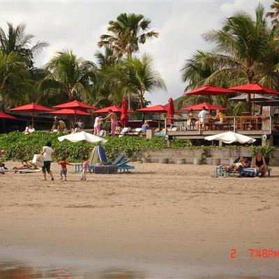 Ku-de-ta from the beach