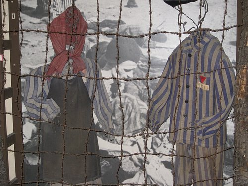 What the internees had to wear
