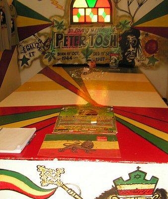 Peter Tosh Tomb