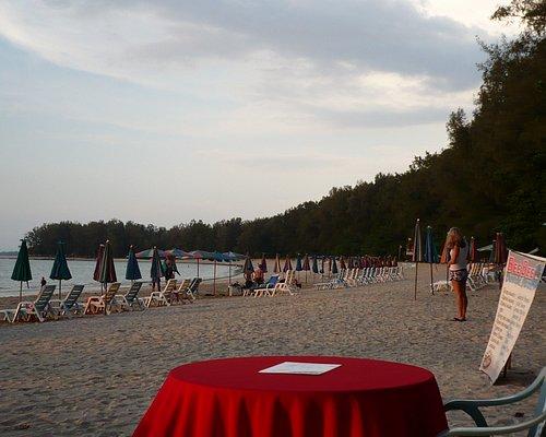 Nai Yang Beach, view from Mr Kobi's Bar