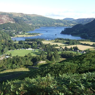 St Sunday Crag/views of Ullswater.