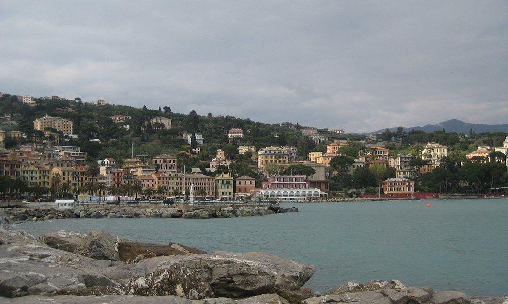 Santa Margherita View across the bay