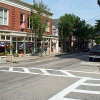 Hope Street- downtown Bristol