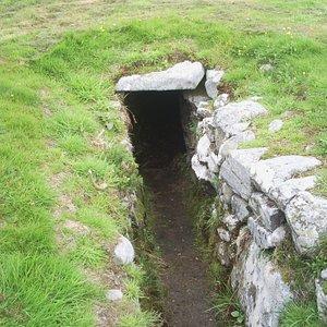 entrance into souterrain
