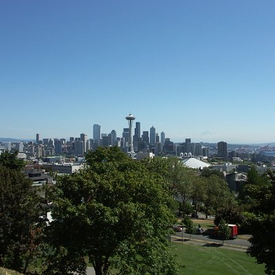 Picture of Seattle from Kerry park