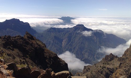 The view from the Roque de los Muchachos