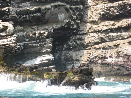 Small scale of Paracas National Reserve near Lima