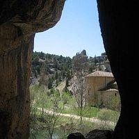 Típica foto desde dentro de la cueva