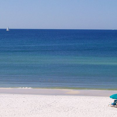 What a view!  Crystal Sands Beach, Destin, Florida