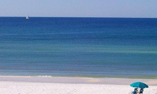 What a view!  Crystal Sands Beach, Destin, Florida