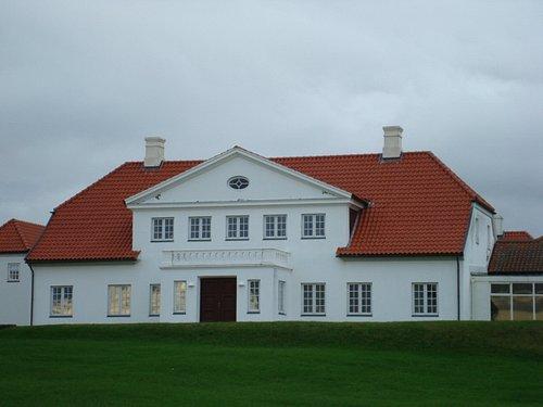 The Presidential residence.