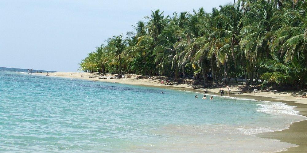 Playa del hostal , Punta Uva