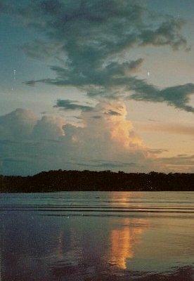 Lake George Florida at Sunset