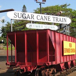 The Sugar Cane Train Station