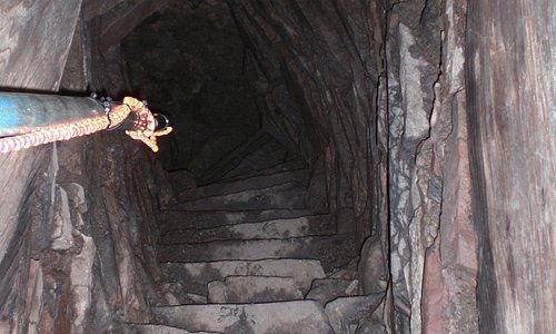 The entrance into Mine Howe