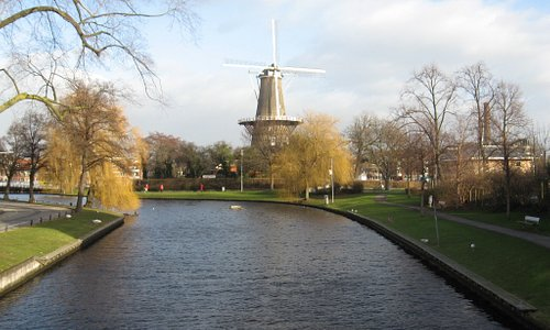 Windmill at channel