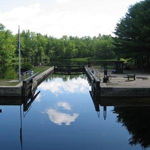 Songa River lock