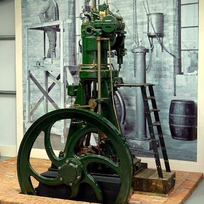 1st diesel engine built in UK, 3rd ever built in world