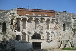 The Palace Front Entrance