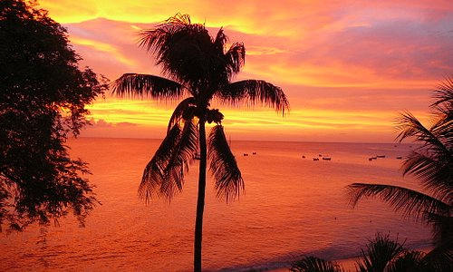 Sunset, Holetown, May 2008