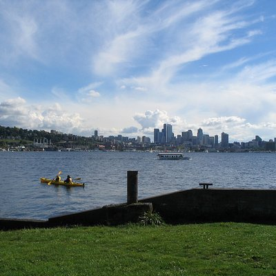Boats in Lake Union