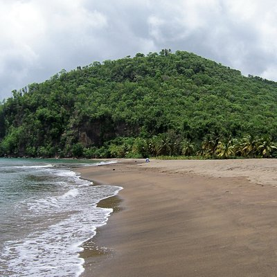 Roseau Beach near Marigot Bay, St Lucia