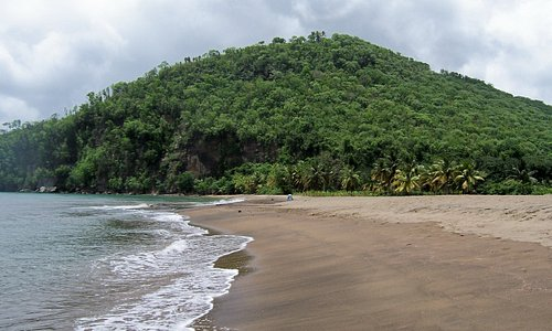 Roseau Beach near Marigot Bay, St Lucia