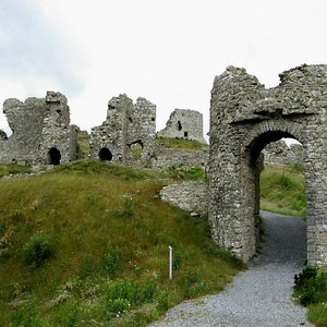 we had the Rock of Dunamase all to ourselves