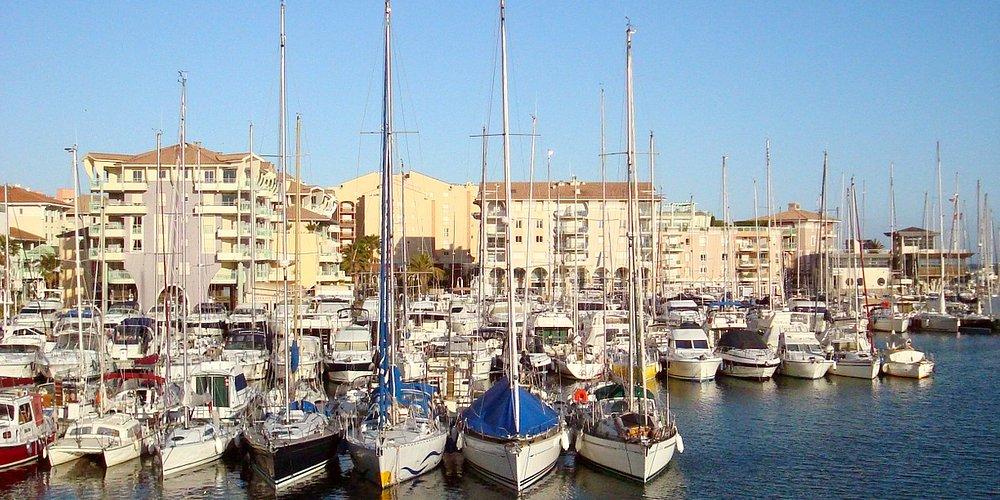 Vu de Port-Fréjus