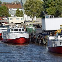 Boats at Rogers Street Fishing Village