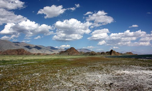 Mongolia's atmosphere