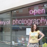 Me outside the Gallery of Photography