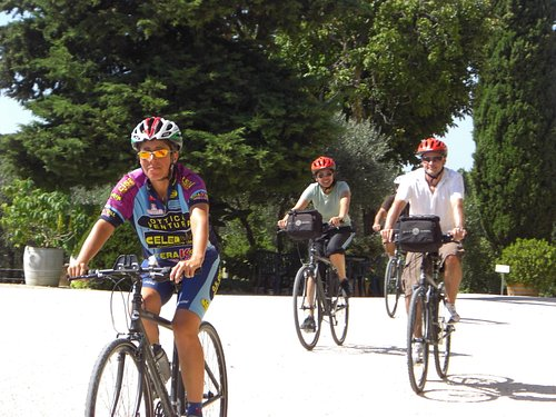 Biking into Casa Emma