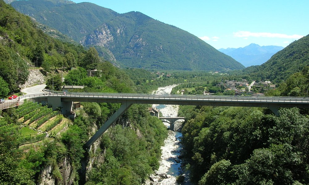 Brücke im Ventovalli