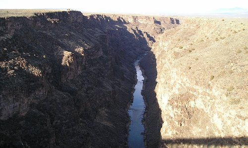 View of the gorge