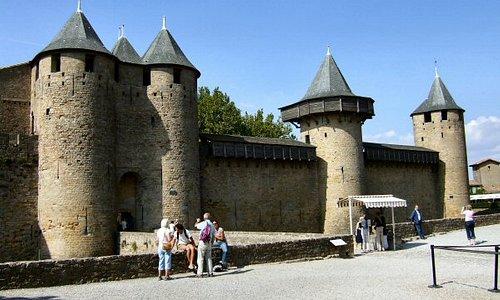 Chateau Comtal, Carcassonne, France