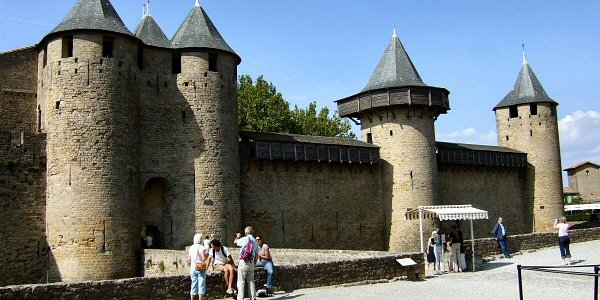 Chateau Comtal, Carcassonne, France